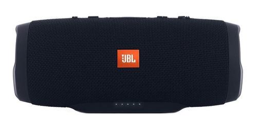 Bocina Jbl Charge 3 Portátil Con Bluetooth Black