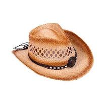Gorra Simplicity® Niños Straw Cap Vaquero Vaquera Sombrero