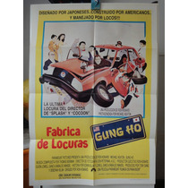 Poster Fabrica De Locuras Gung Ho Michael Keaton Ron Howard