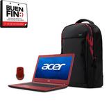 Laptop Acer 14  Discos 500g .intel + Mochila!+mouse!