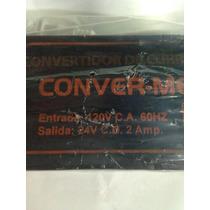 Eliminador 24v 2a Convertidor De Corriente Convermexconverm