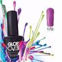 Esmalte Gel Uñas Tipo Gelish Gloss Over Color Grape Uva 15ml