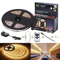 Kit Led Franja Lea® 12v Flexible, Cinta Led, Blanco Caliente
