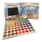 Paletas De Sombras Kayla Love 63 Colores Mayoreo Waterlight