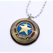 Collar De Escudo Capitán América