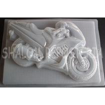 *molde Jumbo Para Gelatina De Motocicleta De Pista Moto*