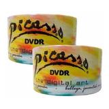 Dvd Picasso  Virgen 4.7 Gb 16x Logo Con 50 Facturado Full