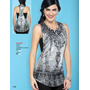 Blusa Gris Sin Manga Ala Moda Vintage Fashion Casual Hipster<br><strong class='ch-price reputation-tooltip-price'>$ 430<sup>00</sup></strong>
