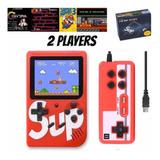 Consola Portátil Sup Game Box Mini 400 Juegos Con Control