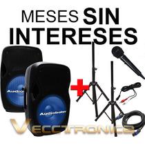 Vecctronica: Combo De Bafles 15 Con Sensacionales Regalos..
