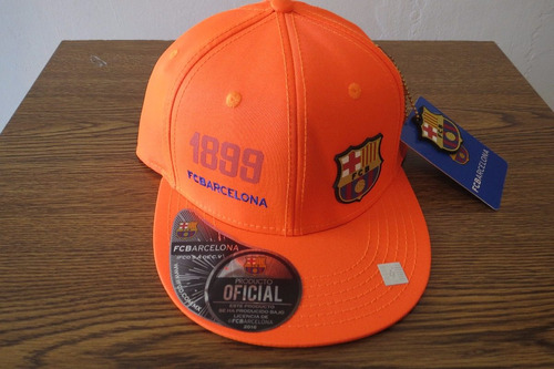 bfe60fcf343d9 Gorra Original - Tapa Plana Club Barcelona Poliéster