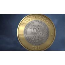 Moneda 20 Pesos Fuerza Aerea Mexicana