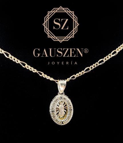 5b506557ed73 Hermosa Medalla Virgen Oro 10k Y Cadena Bautizo Dije en venta en Zapopan  Zapopan Jalisco por sólo   625