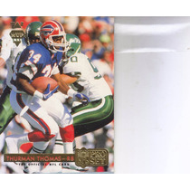 1992 Pro Set Gold Mvp Thurman Thomas Rb Bills