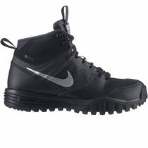Botas Nike Dual Fusion Hill Mid H2o Repelente Black & Silver