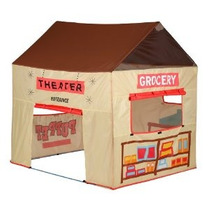 Pacífico Juega Grocery Store / Puppet Theater Tent