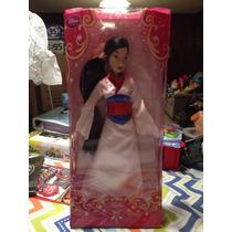 Mulan Exclusiva Muñeca De La Disney Store Mide 29 Cm