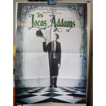 Poster Los Locos Adams Anjelica Huston Carel Struycken 1991