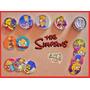Tazos Los Simpsons 1995 / 2006 / 2012 Lote De 56 Tazos D
