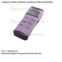 Manometro Digital Profesional De Presion De Aire