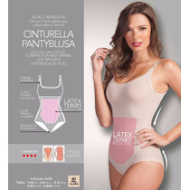 Cinturella Pantiblusa Con Latex Termo Reductor