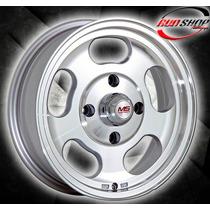 Rines Ms Motorsports 15 Barrenación 4x130 Precio De Oferta