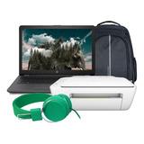 Laptop Hp 255 G6 Amd A6 9225 Hdd 1tb Ram 4gb Dvd + Kit