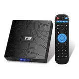 Tv Box T9 Android 9.1 Bt Wifi 4k Uhd 32gb Rom 4gb Ram