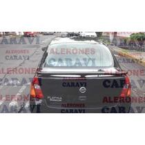 Platina Nissan Spoiler Oficial Modelo Catalogo Agencia