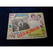 Canta Mi Corazon Enrique Guzman Lobby Card Cartel B