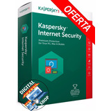 Kaspersky Internet Security 2017 1 Pc Envio En 10 Segundos