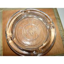 Cenicero Colección Vidrio Cristal Edicion Ron Bacardi
