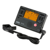Metrónomo Afinador C/micrófono De Contacto, Korg Tm-60c-bk