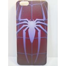 Protector Funda Silicona Iphone 6 Spider Man