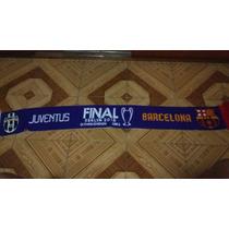 Bufanda Futbol Club Barcelona Conmemorativa Final Champions