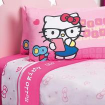 Juego De Sábanas, Dora Y Hello Kitty Pastelito, Vv4