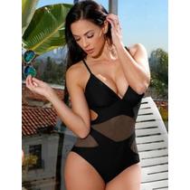 8be187596c33 Traje De Baño Completo Mujer Monokini Bikini Transparencias. en ...