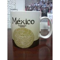 Starbucks City Mug México País Taza 16 Oz Muy Rara