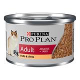 Alimento Pro Plan Adult Para Gato Adulto Sabor Pollo En Sobre De 85g