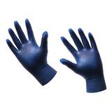 Guante Profesional Pomania Aplicar Tinte Cabello Azules Lm
