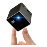 Mini Cubo Proyector Portatil, Bateria Wifi Rgb Led Full Hd