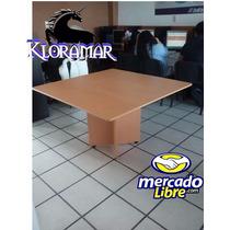 Mesa De Juntas 1.20 En Forma Cuadrada O Redonda.