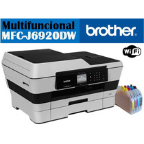 Brother Mfc-j6920dw Tabloide Cartuchos Gigantes 1/2 Litro Ti