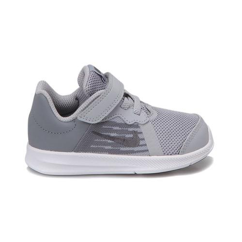 Tenis Nike Downshifter 8 Gris blanco Bebé 12-16 Zx Original. 0a60305aa2b11