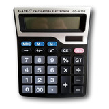 Calculadora De Escritorio 12 Digitos 18 X 15cm Gadiz Gd9633b