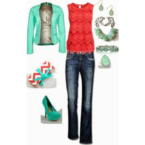 Blusa Color Coral