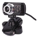 Camara Web Clip Usb Vision Nocturna 3mp Rotacion 180° Pc Lap