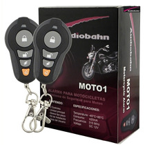 Alarma Audiobahn Motocicleta Moto Sensor Golpes Arrancador
