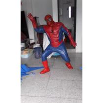 Traje De Spiderman De Vinil