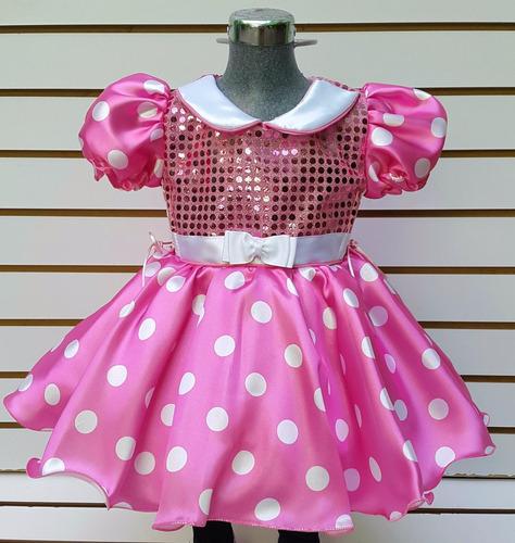 676ab3fa1 Disfraz Mimi Minnie Mouse Talla 8 Años Vestido Mallas Orejas en ...